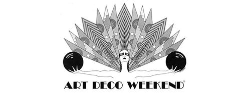 logo art deco weekend