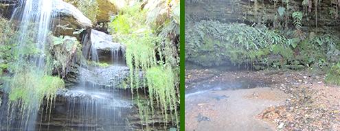 cascadas contaminadas Usaquén