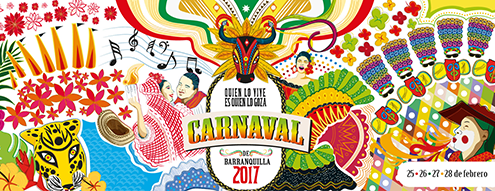 Rexona en el carnaval de Barranquilla