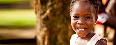 Unicef niña sonriente