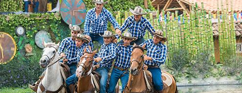 Panaca Galope a caballo show