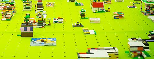 Construcción ciudad Lego