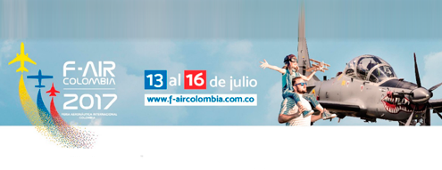 VIII edición de F-AIR Colombia 2017